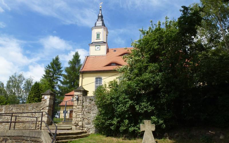 Kirche in Naundorf